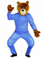 Teddybjörnkit huvud och händer vuxen