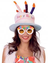 Happy Birthday Glasögon för vuxna