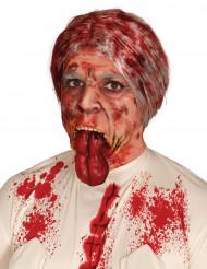 Krossat hakben fejksår för vuxna till Halloween