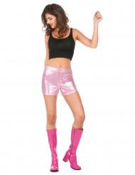 Rosa discoshorts i dam-modell