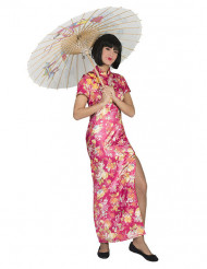 Klänning med inspiration från Asien - Maskeraddräkt för vuxna
