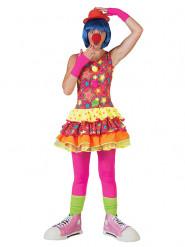 Clown - utklädnad för vuxna