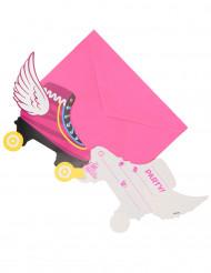 Soy Luna™ inbjudningskort och kuvert