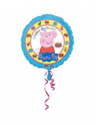 Happy birthday Peppa Pig™ aluminiumballong 43 cm