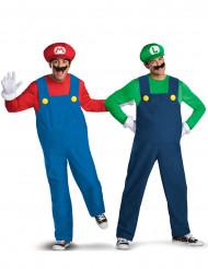 Mario™ och Luigi™ Pardräkt Lyxiga