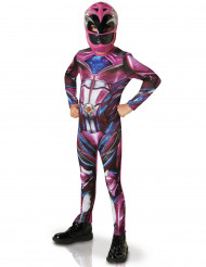Rosa Power Ranger dräkt för barn
