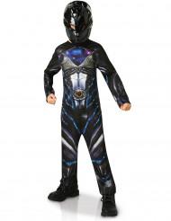 Svart Power Rangers™-dräkt för barn