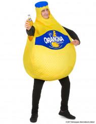 Orangina™ flaska - Maskeraddräkt för vuxna