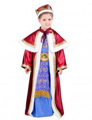 Melchior-dräkt för barn en av de tre vise männen