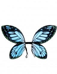 Blåsvarta fjärilsvingar barn