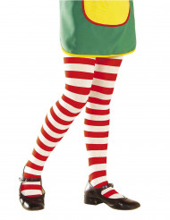 Rödrandiga clowntights barn