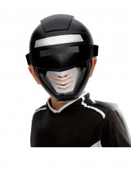 Svart kraft-robotmask barn