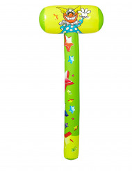 Uppblåsbar clownhammare 96 cm
