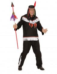 Kraxande kråkan - Indiankläder för vuxna till maskeraden