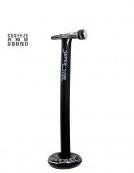 Uppblåsbar mikrofon med stativ 116 cm