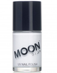 Vitt UV-nagellack från Moonglow® - Maskeradsmink 15 ml