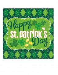 16 pappersservetter St Patrick