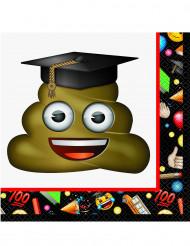 16 servetter från Emoji™