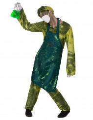 Radioaktiv vetenskapsman - Halloweenkostym för vuxna