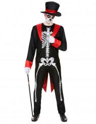 Elegant skelett - Dräkt till Halloween för herrar