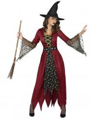 Trollare i rött och guld - Halloweenkostym för vuxna