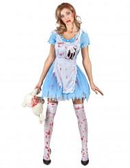 Kostym för blodig Alice dam
