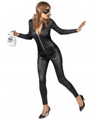Kostym som sexig maskerad tjuv dam