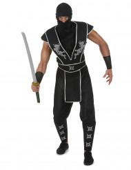 Kostym Ninja shurikenstjärna herrar