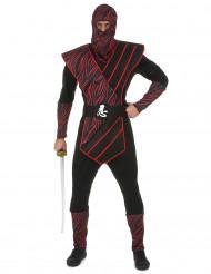 Kostym ninja vilddjur herrar