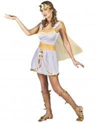 Kostym som grekiskinspirerad gudinna dam