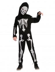 Skelettoverall- Halloweendräkt för barn