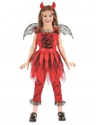 Elddemonklänning - Maskeraddräkt för barn