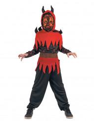 Elddemon - Halloweendräkt för barn