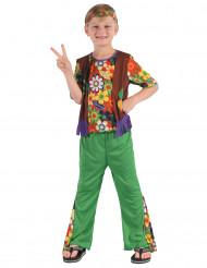Flower Power Hippiedräkt för barn