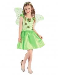 Grön skogsfe - Maskeraddräkt för barn
