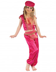 Orientalisk dansare - Maskeraddräkt för barn