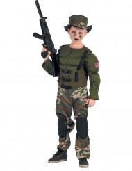 Muskelknutte - Amerikansk soldatdräkt för barn