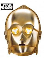 Kartongmask som föreställer C3-PO från Star Wars™