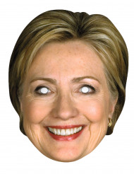 Hillary clinton pappmask