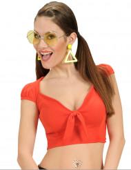 Linne i rött - Maskeradkläder för vuxna