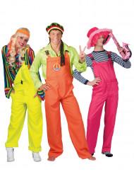 Trio i hängselbyxor - Gruppdräkt för vuxna