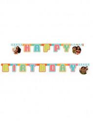 Vaiana™ girlang - Happy Birthday 195 cm