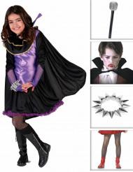 Vampira girly Maskeraddräkt