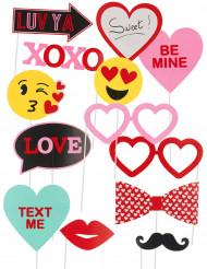 Kärlek - Photobooth kit till festen