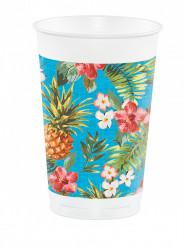 Tropiska plastmuggar 473 ml