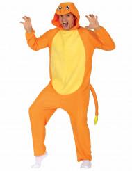 Kostym som liten orange gnagare vuxna
