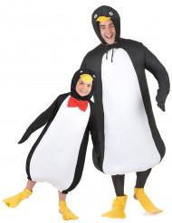 Roligt pingvinpar - Pardräkt för barn och vuxnen