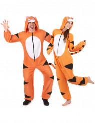 Mysigt Tigerpar - Pardräkt för vuxna