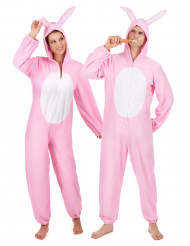 Par i kaninoveraller - Pardräkt för vuxna