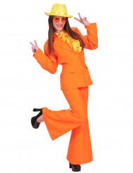 Orange kostym dam